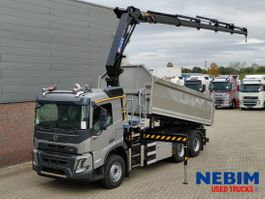 kipper vrachtwagen Volvo FMX 460 6x4 CRANE HMF 2320K5 - NEW - NIEUW - NEU 2021