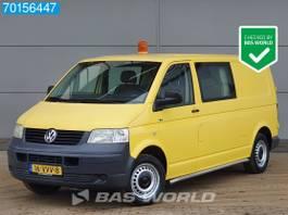 gesloten bestelwagen Volkswagen 1.9 TDI 102pk Dubbele cabine Lang Trekhaak 4m3 Double cabin Towbar 2008