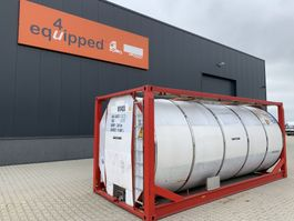 tankcontainer Van Hool 25.000L, 20FT, IMO-1, T7, L4BN, valid 2,5y/CSC: 10/2023 2000