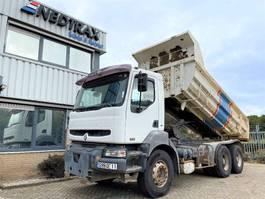 kipper vrachtwagen Renault Kerax 370 370DCI 6X4 TIPPER 2003