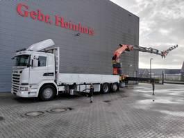 kraanwagen Scania G410 6x2 Euro 6 Palfinger PK 53002 SH 5 x Hydr. Jip PJ 125C 4 x Hydr. 2015