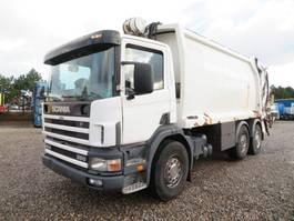 vuilkar camion Scania P94 260 6x2 * 4 Norba RL300 2003