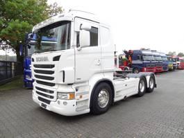 zware last trekker Scania R480 6X4 2014