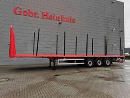 platte oplegger Faymonville Pavic PRSH-27-SW Liftaxle Holztransporter! 2017