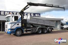kipper vrachtwagen Scania G480 8x4 Triple Euro 5 2012