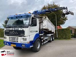 containersysteem vrachtwagen Terberg FM 1350 6x6 containersysteem met kraan 2000