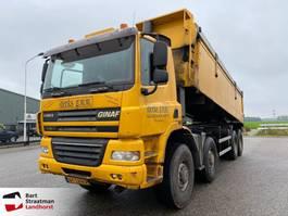 kipper vrachtwagen Ginaf X 5450 5450B 8x8 kipper steelsuspension 2007