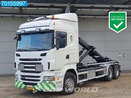 containersysteem vrachtwagen Scania R400 6X2 Liftachse 3-Pedals Euro 5 2010