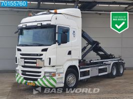 containersysteem vrachtwagen Scania R400 6X2 Liftachse 3-Pedals Euro 5 2011