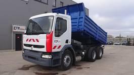 kipper vrachtwagen Renault Premium 260 (GRAND PONT / POMPE MANUELLE / SUSPENSION LAMES / EURO 2) 2001