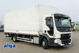 huifzeil vrachtwagen Volvo FL 240 lang/LBW/AHK/Luftfederung 2018