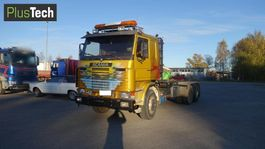 containersysteem vrachtwagen Scania 142H 1985