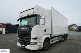 bakwagen vrachtwagen Scania R730 Box truck with 3 temp cool/ freezer unit 2016