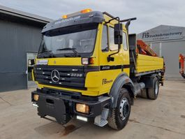 kipper vrachtwagen Mercedes-Benz SK 2031 4x2 tipper + crane Palfinger PK11000B 1994