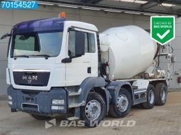 camion à bétonnière MAN 35.360 8X4 Manual 9m3 Big-Axle Steelsuspension Euro 4 2010