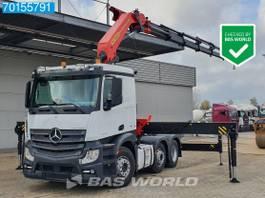 standaard trekker Mercedes-Benz Actros 2548 6X2 NEW CRANE Palfinger PK48002-EH 6x2*4 2016