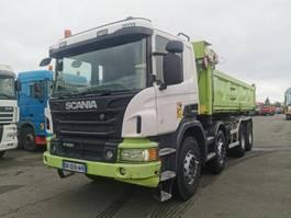 kipper vrachtwagen Scania P 2014