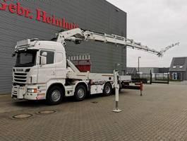kraanwagen Mercedes-Benz Scania R560 8x2 Euro 5 Hiab 1055E-8 Hipro 8 x Hydr. Jip 175X-5 JDC 5 x Hydr. Winch Frontabstutzung! 2013